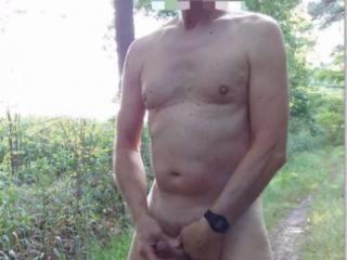 public outdoor exhibitionist twink jerking hoping to get caught