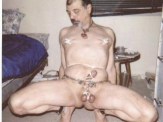 tony slave naked and exposed