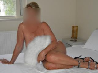 Mrs Curious7-Sexy In White (part1)
