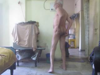 Nude walking