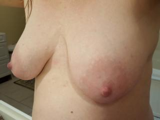 My tits for you