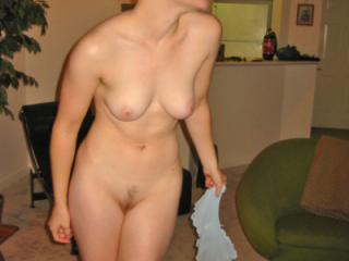 wife being naughty