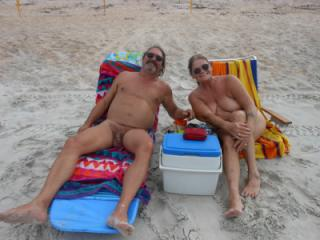 On the Nude Beach in Florida!