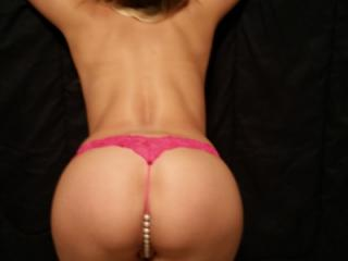pink pearl thongs..pink open pussy 1 of 20