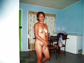 Young in her nude