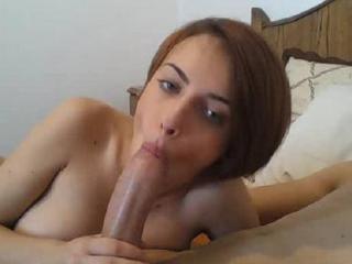 Me sucking cock!