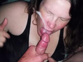 Bbw huge tit wife action shots
