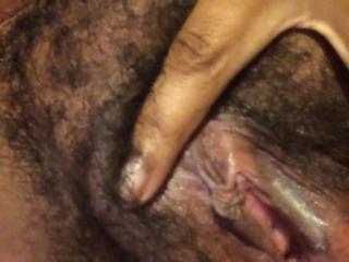 Hairy black Pussy