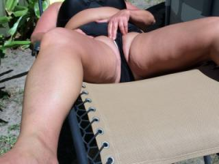 sexy wife outdoors 2