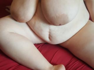 Another bareback visit with 36yo married BBW