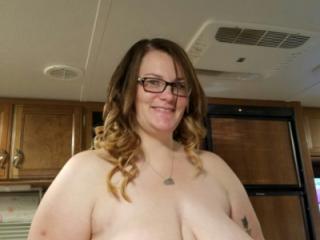Bbw wife's huge tits