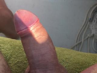 My cock is alive!