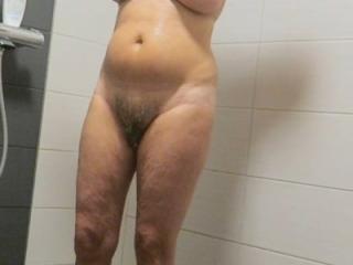 Seven pics in bathroom