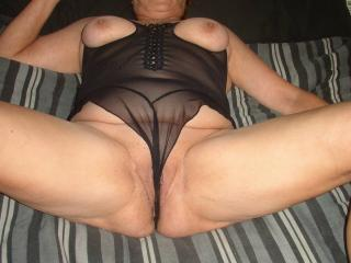 Wife Enjoying