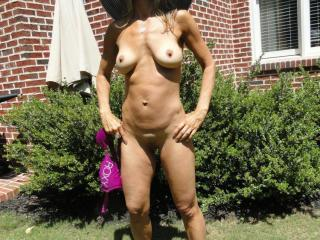Jade...tanning in the backyard 5 of 20