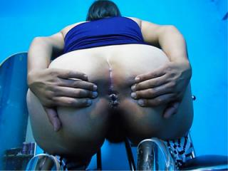 Mexican depraved shows her Anus 40