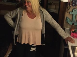 Hot Blonde Milf is SEXY! 5 of 19