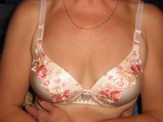 Silk bra and panty set