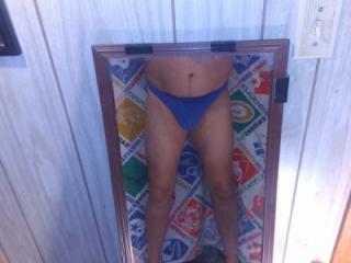 Yoga pants and thongs