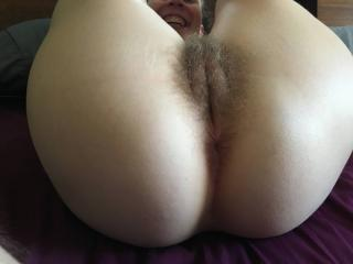 Sweet hairy pussy fucked and creampied