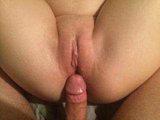 Vagina covered in cum — photo 1