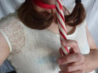 Candycane Schoolgirl