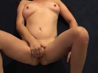 Sexy slut playing with pussy