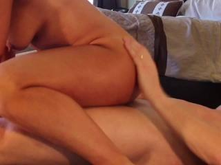 Oiled Up Fucking with Cumshot
