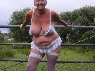 Part 2 Lorraine flashing in public