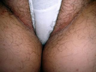 Who wants to tear off my panties and fill my hairy holes.