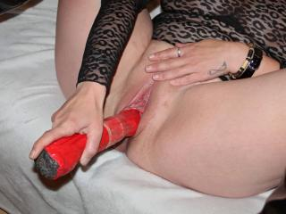 Home made dildo