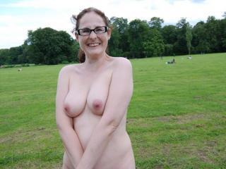Nude in public park 8 of 20