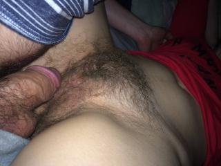 Remarkable, rather Beautiful hairy pussy creampie were