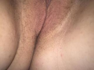 Wife tits and pussy