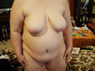 Bareback session with 52yo local BBW 1 of 10