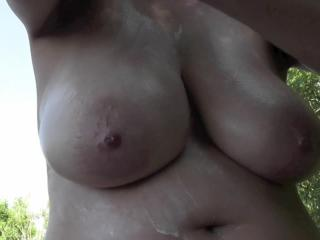 Busty Tina - Sunscreen