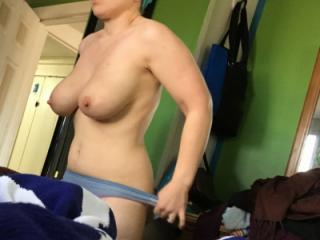 Her tits seemed especially amazing today