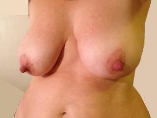 Rate this natural breast 1-10!