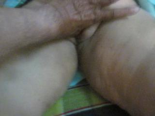 Masturbation with thump