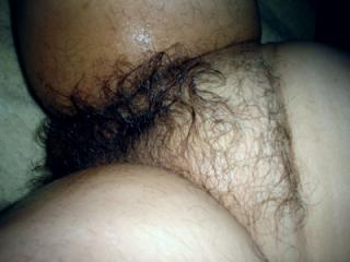 My hairy cunt!