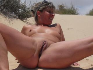 Naked in the dunes