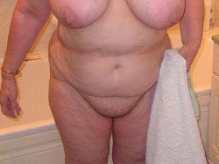 Wifey's huge tits