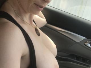 Wife in public