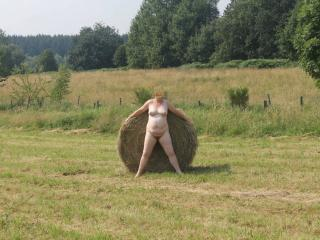 A lonely haystack 4 of 9