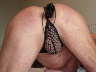 Seamless cotton bikini panties
