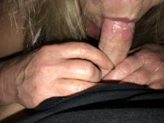 titties handjob and blowjob 10 of 12