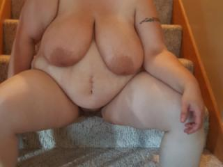 Bareback visit with 36yo bbw married swinger