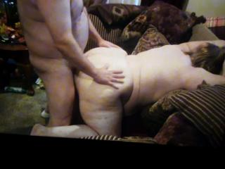 Bareback session with 52yo local BBW 10 of 10