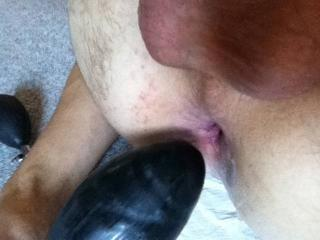 Playing with my Pumpdildo