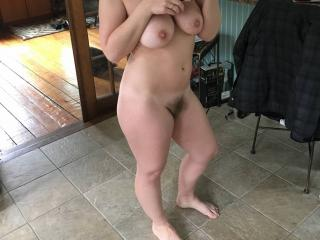 Kitchen nudity